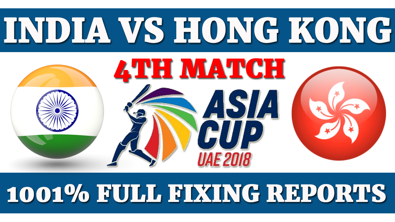India vs Hong Kong