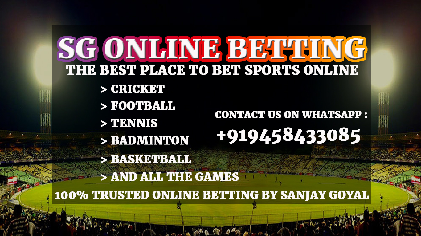 SG ONLINE BETTING BOOKIE IN INDIA