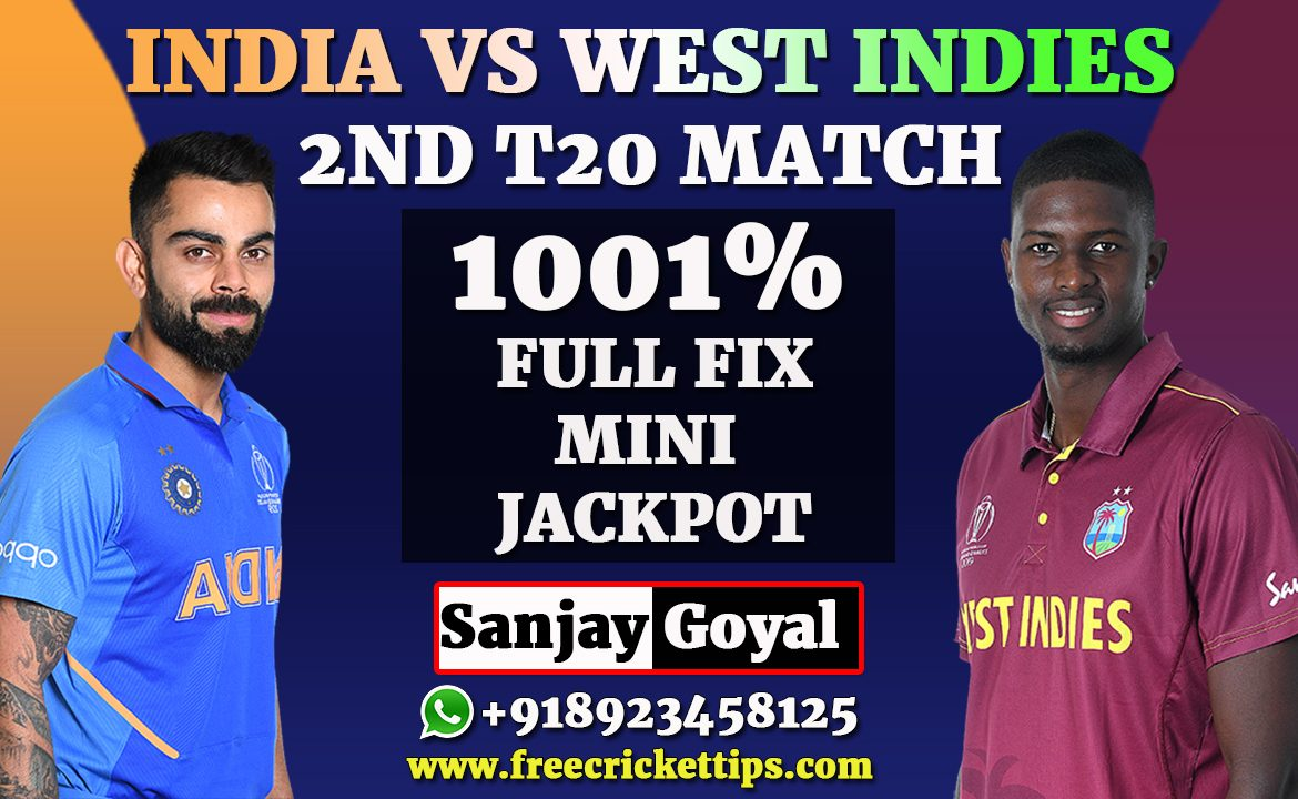 2nd T20 Match West Indies vs India