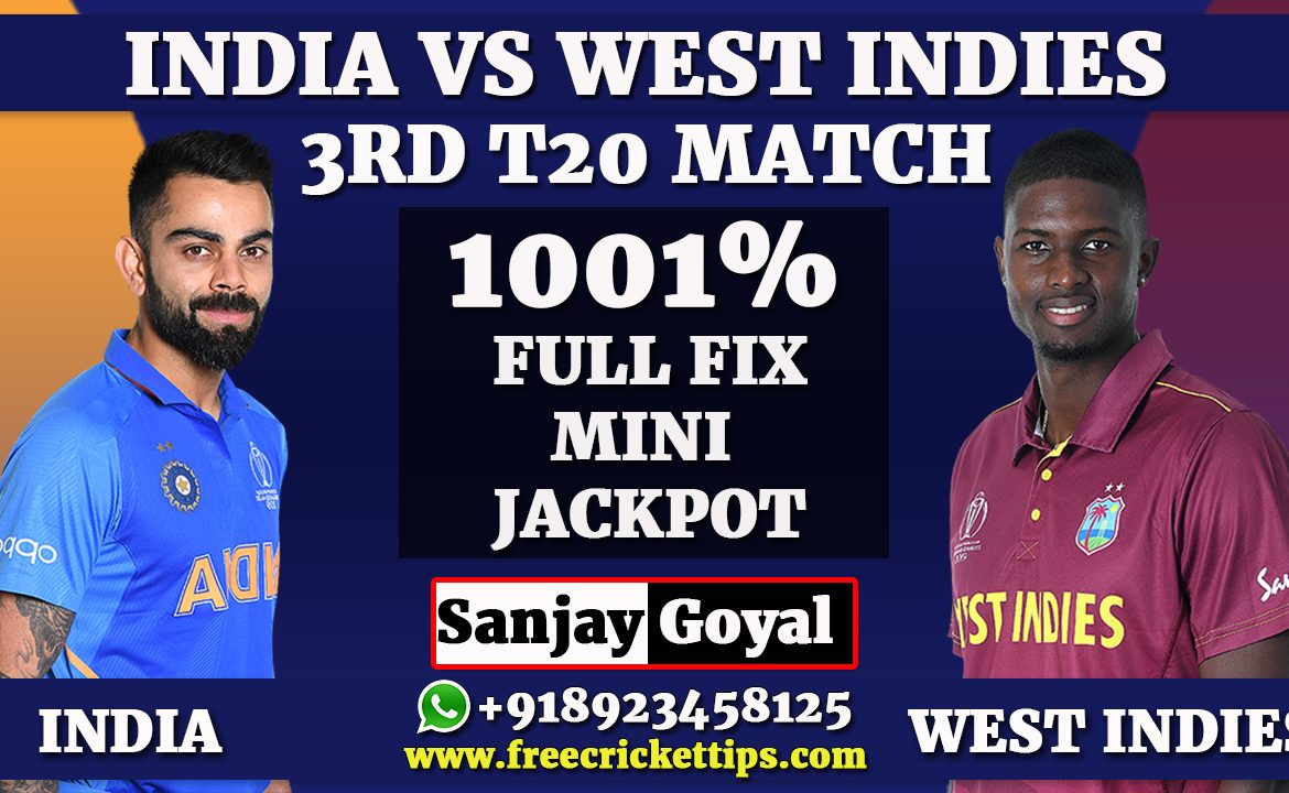 3rd T20 Match West Indies vs India