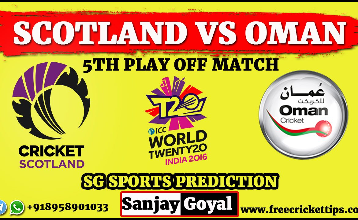 Scotland vs Oman