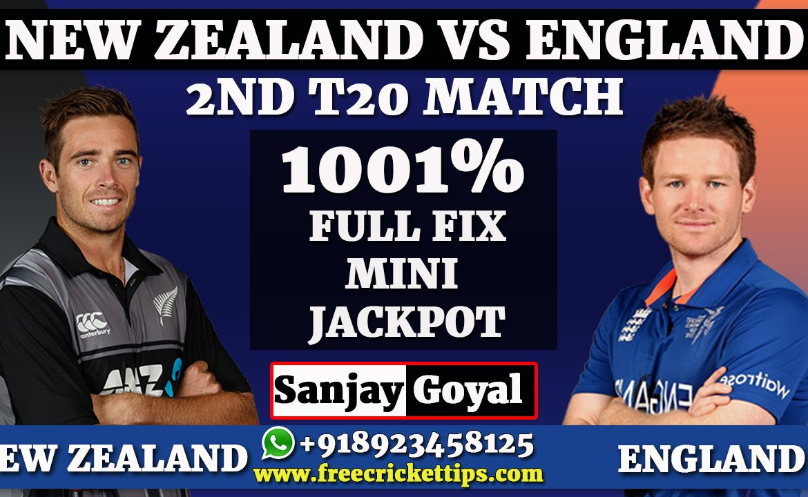 2nd T20 MATCH New Zealand vs England