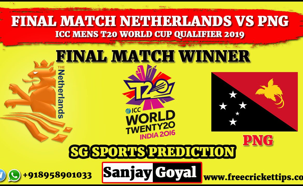 FINAL MATCH Netherlands vs Papua New Guinea