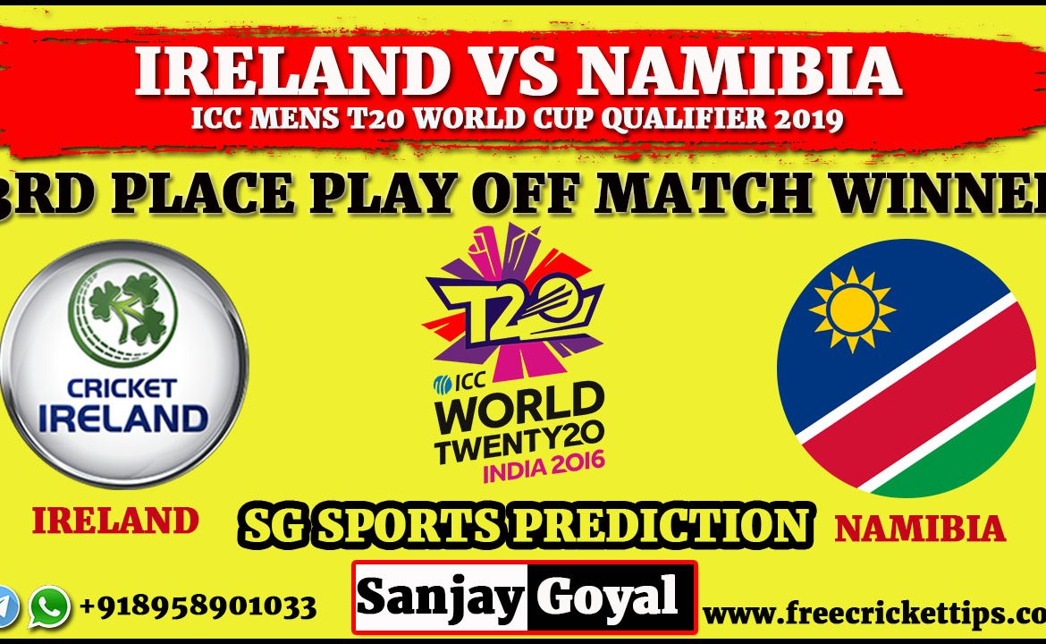 3rd place Play off Ireland vs Namibia